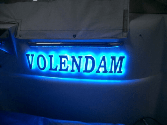 Volendam Scheepsverlichting
