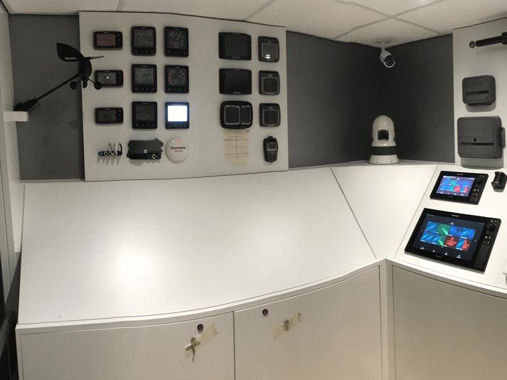 Raymarine Verplaatsbare Showroom