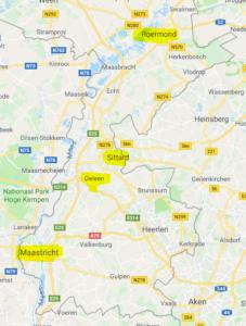 Vaarroutes Limburg