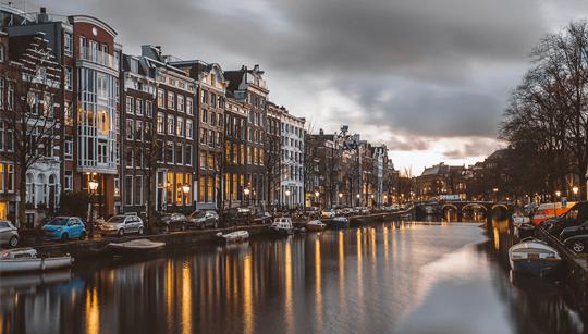 Vaarroute Noord-Holland